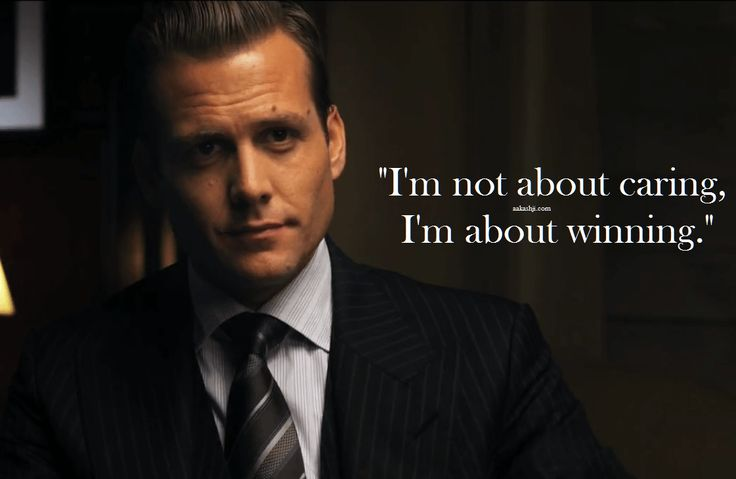 Harvey Specter is one cool lawyer. He's a smooth mover,sharp-witted, wise with words and ever ready with a quotable one-liner.
