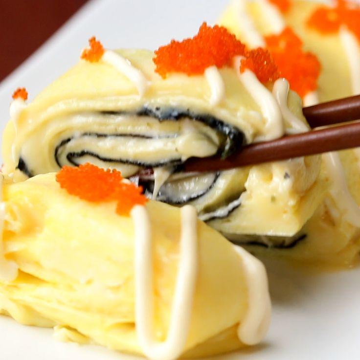 Cheese & Nori Japenese Omlette