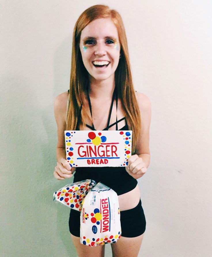 Ginger Bread Man Halloween Costume #gingerjokes