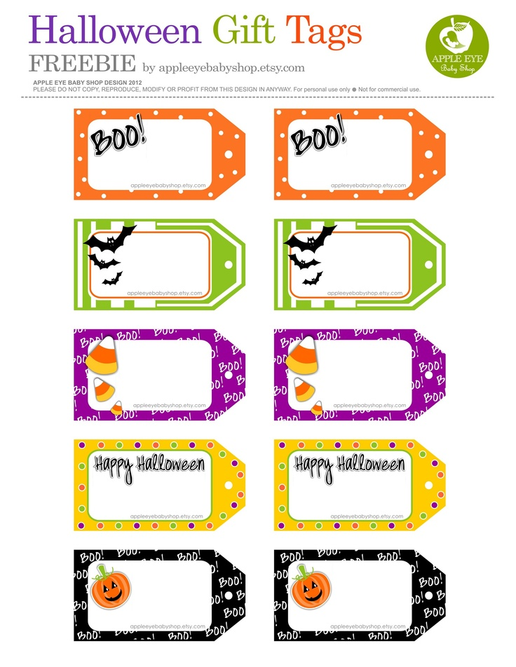 Arnold s halloween downloadable tags