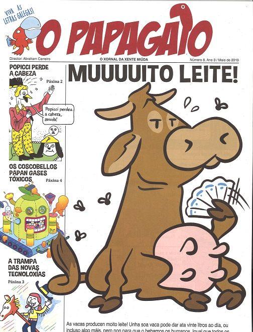 O PAPAGAIO nº 8 (Maio 2019) | Revistas y Letras