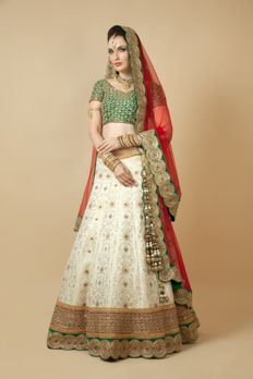 Love the Panetar Ghagra from BenzerWorld!