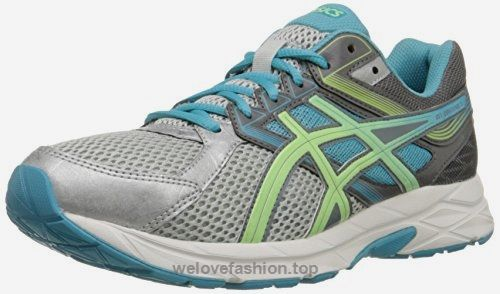 ASICS Women's Gel-contend 3 Running Shoe, Silver/Pistachio/Teal, 9 M US  BUY NOW     $48.95    A neutral trainer that is ideal for the new or low-mileage runner. Open mesh upper with supportive synthetic overlays. Exterior boasts reflectivity for low-light visi ..