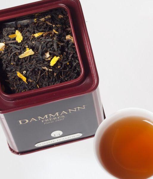Boîte de thé Pomme d'amour Dammann
