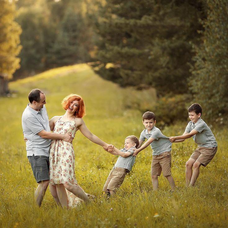 вопросы детям по фотографии семьи