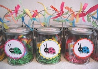 Ladybug Party ~ Party Favors