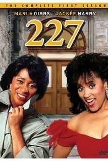227 - This series took place in an apartment building, numbered 227. The cast would frequently be found sitting outside on a large set of stone stairs, in some discussion that would unfold into the weekly plot line.