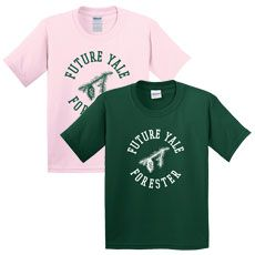 Yale School of Forestry and Environmental Studies Swag Store - Future Yale Forester Youth T-Shirt, Douglas-fir