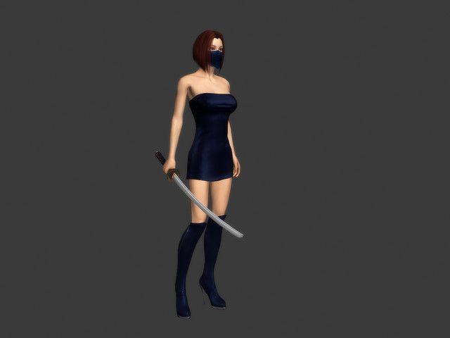 Female Ninja #Ninja#Female#Humanoids#Characters | After