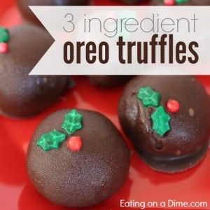 Try this easy Oreo Truffles Recipe this year. How to make Oreo balls. These no bake oreo balls are easy and are the best oreo chocolate truffles.