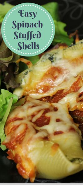 Tasty Thursday: Spinach Stuffed Shells