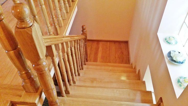 Scara din lemn de stejar \ Oak staircase