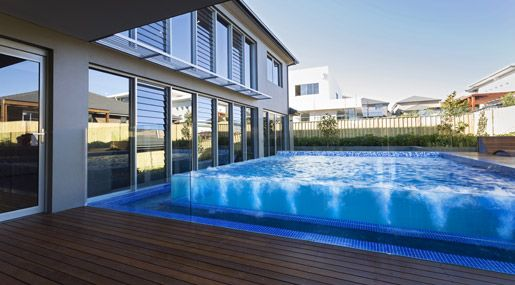 26 best images about glass swimming pool on pinterest for Pool design london