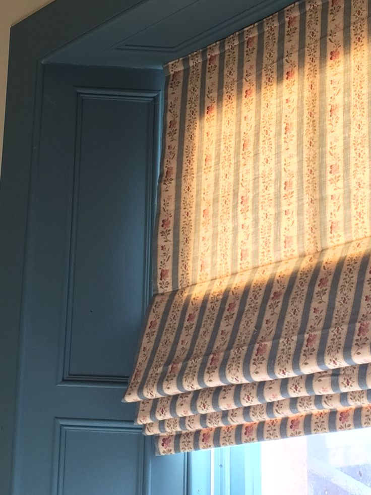 Aged Linen - Beauclerc Stripe in Wedgewood colour way by Inchyra.  Inchyra   rustic luxury linens and homewares   Perth Scotland
