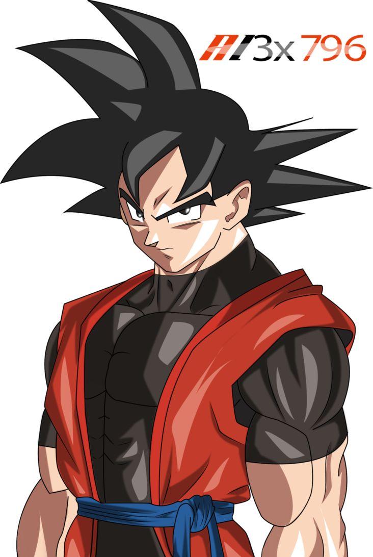 Xeno Goku Render by AL3X796