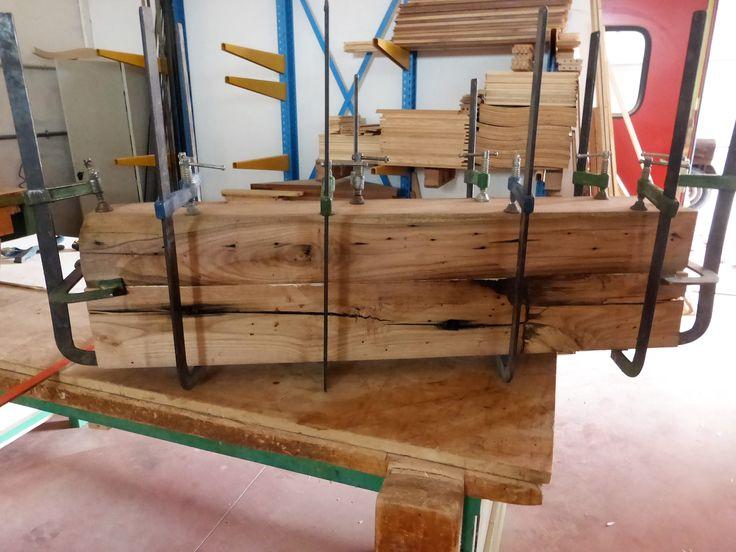 Oltre 25 fantastiche idee su travi di legno su pinterest - Tavoli in legno vecchio ...