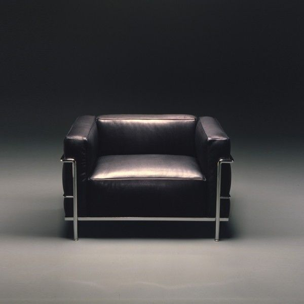 Le Corbusier, LC3 Armchair, the icon of furniture