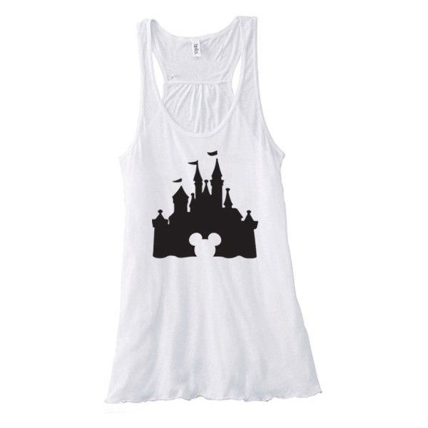 ChaliceTee Disneyland Disney World Disney Cruise Minnie Mouse Mickey... (£3.82) ❤ liked on Polyvore featuring tops, tank tops, tanks, red, women's clothing, shirts & tops, loose shirts, loose fitting shirts, loose fitting tank tops and mickey mouse top