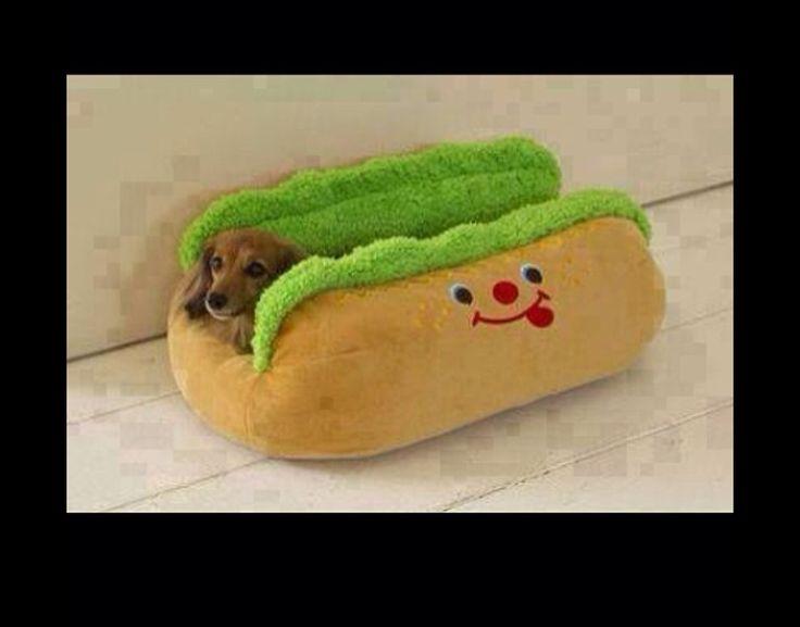 Hot dog dog house