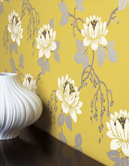 The 25 Best Black Floral Wallpaper Ideas On Pinterest