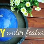 DIY Fountain ~ @Lowe's - Today's Creative Blog. (wash your pea gravel first, or you'll end up with murky water like me)