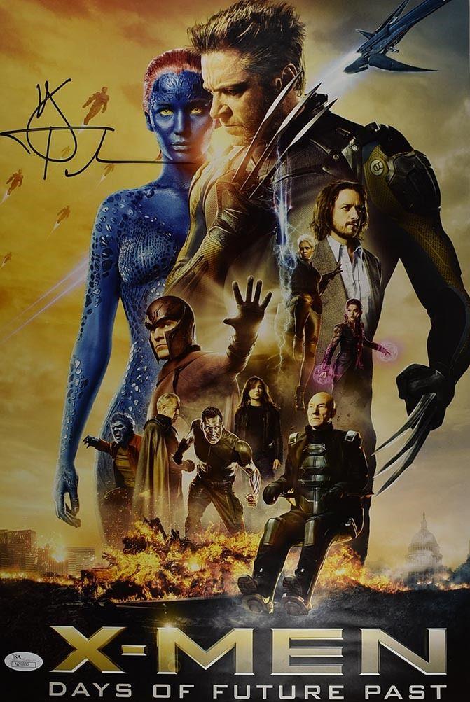 Hugh Jackman X Men Days Of Future Past Signed 12x18 Poster Certified Authentic Jsa Coa Days Of Future Past X Men Man Movies