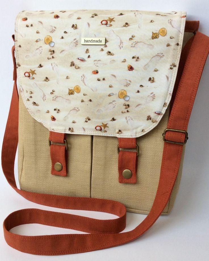 The Campfire Messenger Bag by Noodlehead — Uniquely Michelle