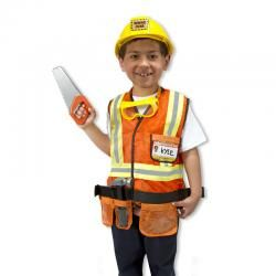 MELISSA & DOUG ROLE PLAY SET - CONSTRUCTION WORKER