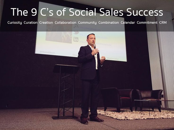 The 9 C's of Social Sales Success