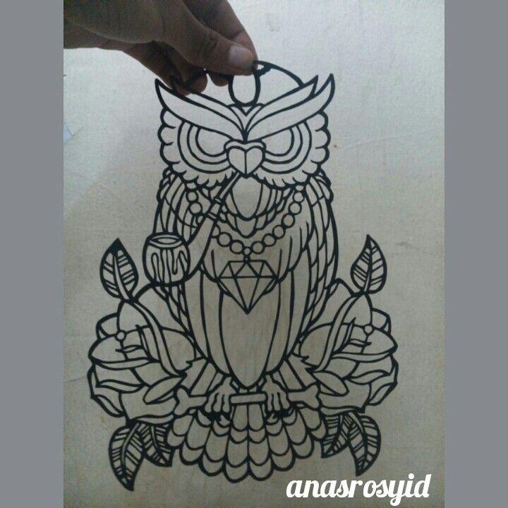 #owl #papercut