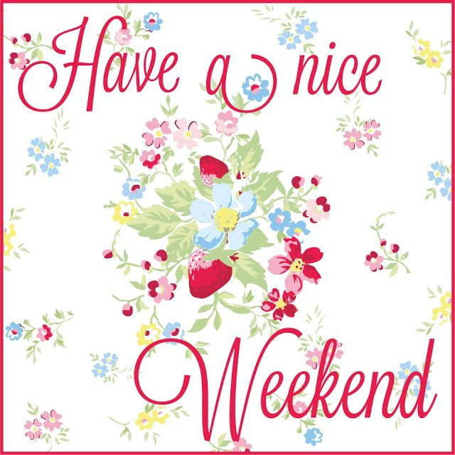 Have a nice weekend my friends! XOXO