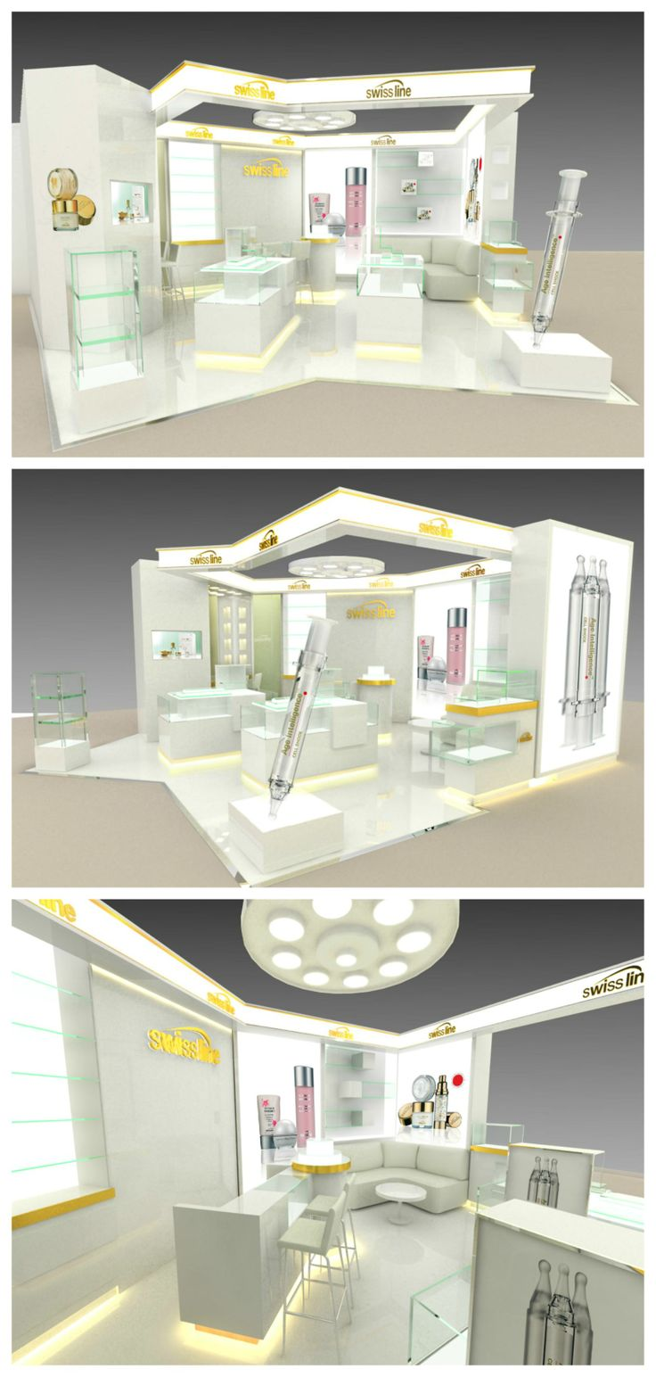 Swissline Cosmetics Booth