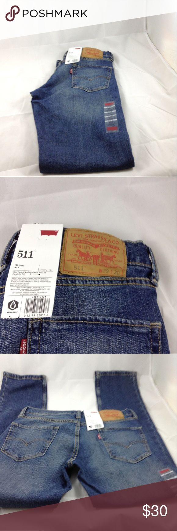 Levi jeans 511 Levi's 511 waist 29 Length 30 Levi's Jeans Skinny