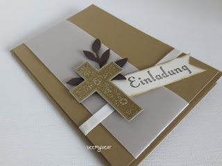 stampin with beemybear: Einladung zur Konfirmation