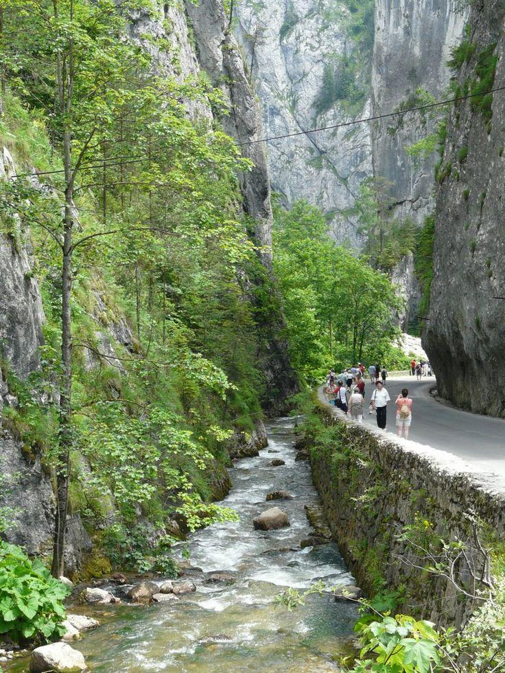 Bicaz canyon, Romania, Carpathian Mountains