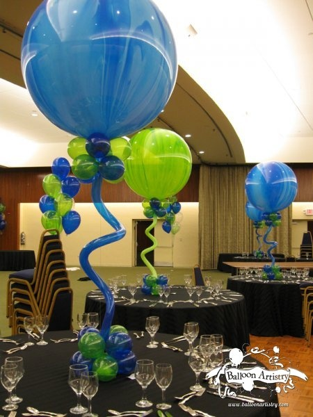 Balloon artistry balloon column balloon column balloon for Balloon decoration los angeles