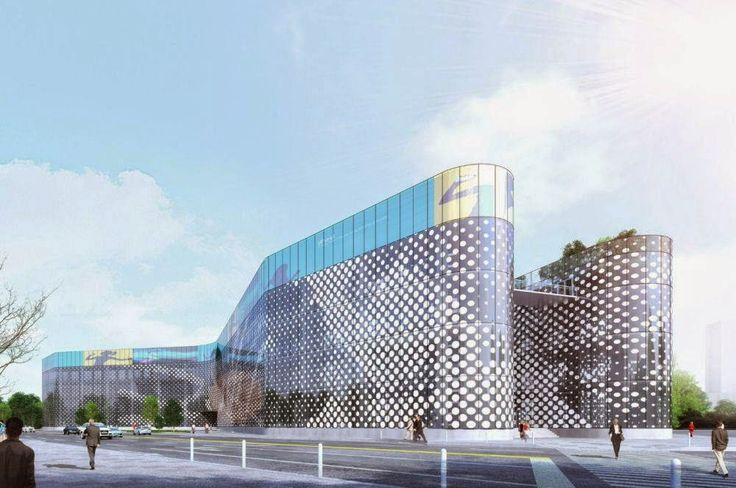Beautiful Architecture :  IMX International Trade and Exhibition Centre in Hongqiao Central Business District, Shanghai