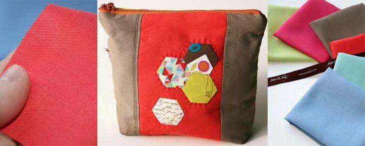 Nuevas telas de lino de colores en la tienda online Jan et Jul   Portaldelabores.com   Portal de labores