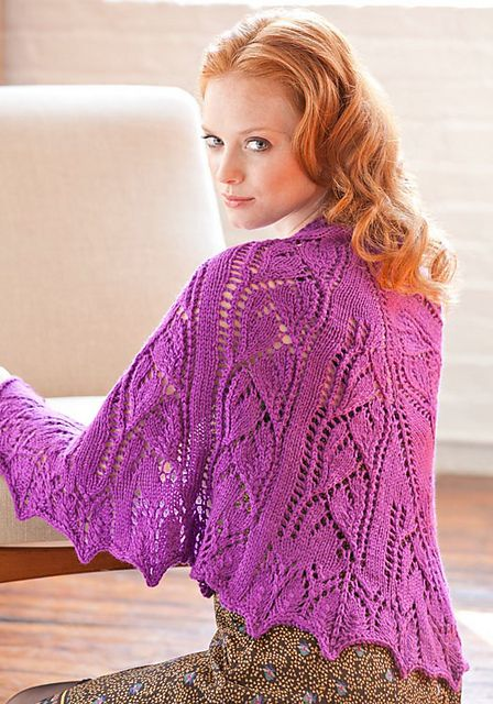 Free Pattern: Beloved Shawl by Cathy Payson