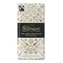 Divine Fair Trade 70% Dark Chocolate Bar for Baking (200g) SINGLE-http://www.traidcraftshop.co.uk/c-35-fair-trade-kitchen-cupboard-and-everyday-essentials.aspx