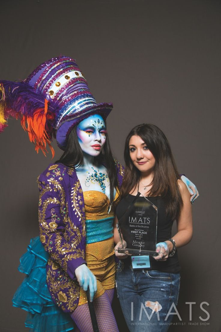 NY16: Battle of the Brushes beauty 1st place winner Briana Trischitta