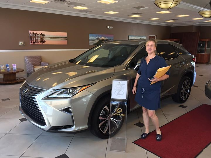 Congratulations to Natha H. on her new 2017 #Lexus #RX350 from Lexus of Orange Park which she purchased with our Team Member Milton! Thanks for being part of the Fields Auto Group family. #Lexus