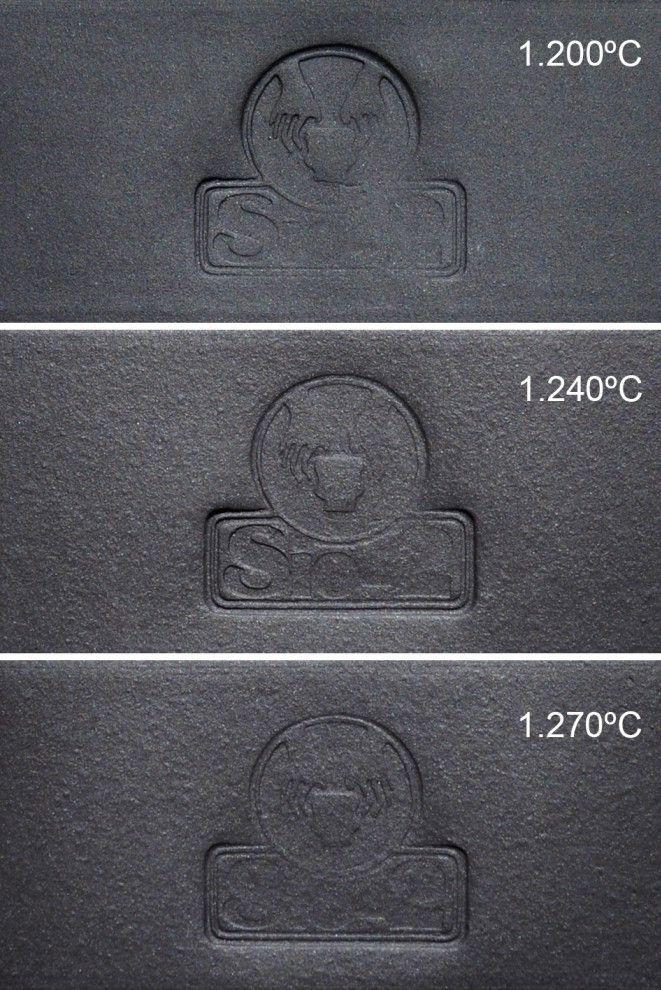 Черный фарфор Black Ice 1230-1270°C