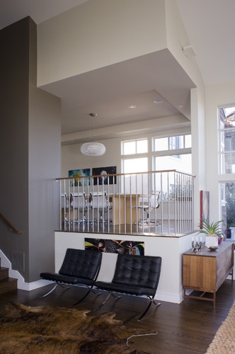 1000 ideas about split level decorating on pinterest for Split living room ideas