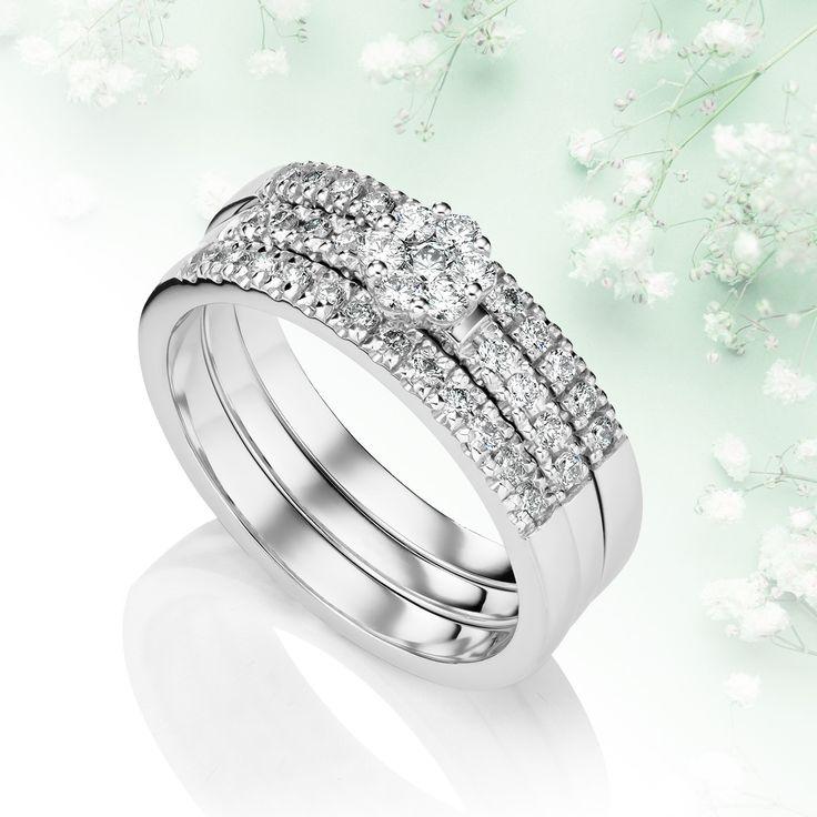 Kohinoor-timanttikorut uutuus tänä keväänä on ihana Daisy! Sami Laatikaisen suunnittelemassa valkokultaisessa vihkisormuksessa timantit on istutettu kauniisti kukan muotoon. Ihastuttava Daisy on saatavilla ainoastaan Timanttiset-myymälöistä.