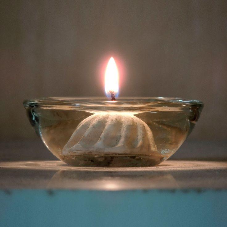 LJUSBRINGARE® brinner fossilfritt på vanlig matolja. http://lumipak.se/