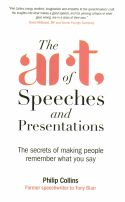 In The Art of Speeches and Presentations, Philip Collins uses his own extensive personal experience as a speechwriter to outline what to do and what not to do when writing a speech. With a focus on the worlds of business and politics, Collins guides readers through the entire process of creating an effective speech. Understanding one's central argument and paying attention to important details are at the center of what the aspiring speechwriter needs to understand.