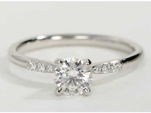 see round solitaire white wedding for style who simple rings diamond gold band pin love more girls classic engagement