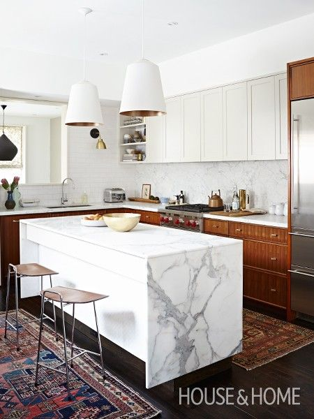 A Renovated Kitchen Retains Original Upper Cabinetry Painted A Soft Gray  And Pairs It With New Part 54