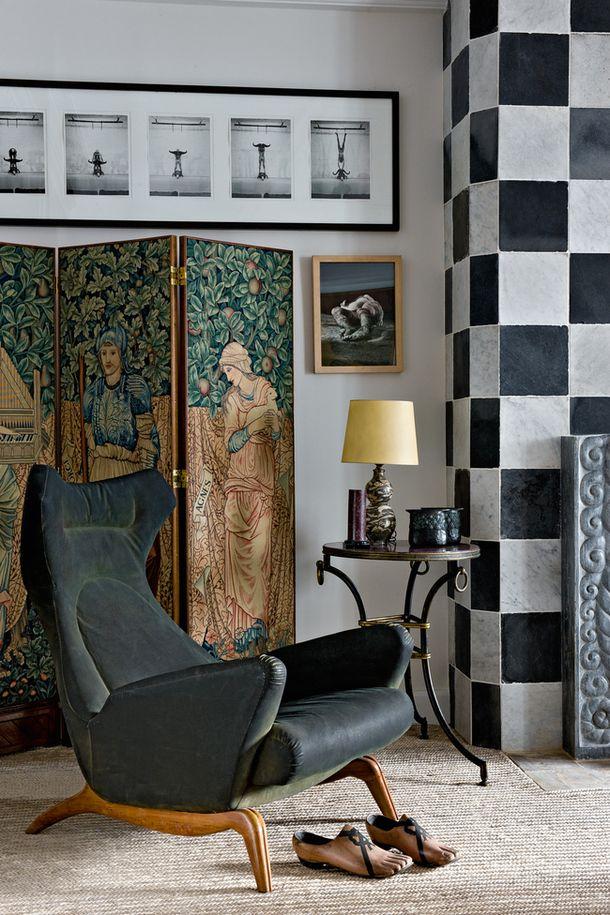 Квартира коллекционера в Париже